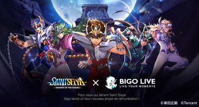 Bigo Live x Saint Seiya Awakening