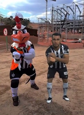 """ImagineAR's (OTCQB:IPNFF) Client - Clube Atlético Mineiro -Successfully Launches Premiere Interactive """"Galo Augmented Reality"""" Experience for Fans Around the World (CNW Group/ImagineAR Inc.)"""