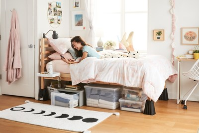 Bed Bath & Beyond today launched Squared Away™, a new Owned Brand line of storage and organization products. The omni retailer also launched its College, Happier campaign to make it easier for students to get Back-to-College essentials for dorm living or off-campus housing.