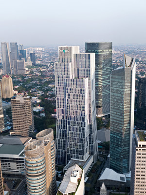 Sequis Tower answers the need for sustainable office buildings in the new normal era