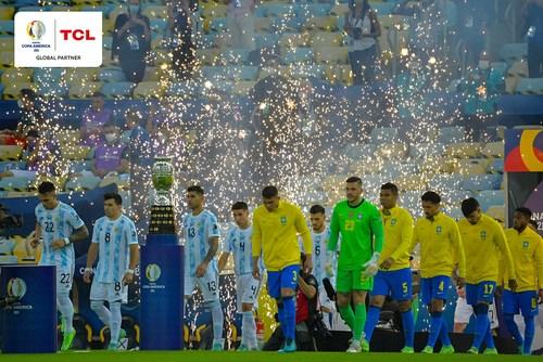 Argentina versus Brasil (PRNewsfoto/TCL Group)