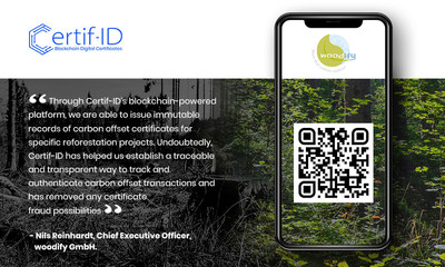 Bengaluru based woodify Opts for Blockchain-Powered Digital Certificates to Issue Carbon Offset Certificates