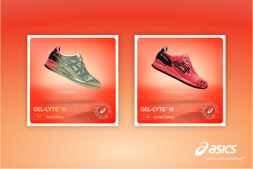 ASICS announces the ASICS NFT Sunrise Red™ Collection