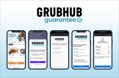 The Grubhub Guarantee in-app product
