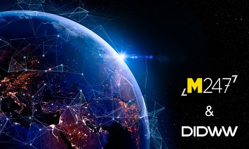 DIDWW and M247 collaborate for global Unified Communications