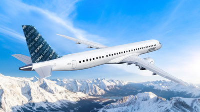 The E195-E2's range allows for the creation of a continental route network. Potential markets reach coast to coast in Canada and the United States, including U.S. sun destinations, plus Mexico and the Caribbean. (CNW Group/Porter Airlines)