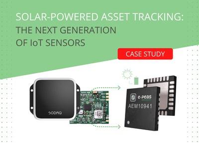 SODAQ/e-peas batteryless mini-solar tracker