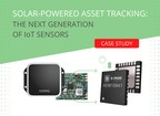 Solar-powered Asset Tracking: The Next Generation of IoT Sensors