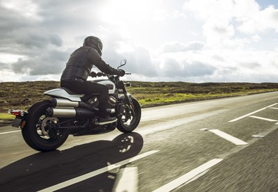 """""""The Sportster S is the next all-new motorcycle built on the Revolution Max platform and sets a new performance standard for the Sportster line,"""" said Jochen Zeitz, chairman, president and CEO, Harley-Davidson."""