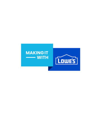 Making It... With Lowe's logo
