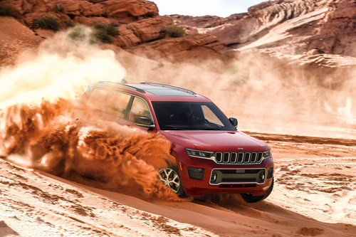 """The Jeep® Grand Cherokee L """"Wildly Civilized"""" marketing campaign launches across TV, social and digital channels in July 2020."""