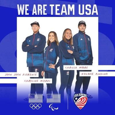 SOMOS a equipe dos EUA (PRNewsfoto/American Wave Machines, Inc.)