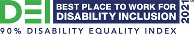 ADP receives a top score on Disability:IN's global Disability Equality Index® (DEI), earning the designation as a Best Place to Work for Disability Inclusion.
