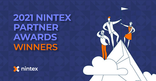 Nintex today announced 15 winners of the 2021 Nintex Partner Awards across five categories and three regions - Americas, Asia Pacific, and Europe Middle East and Africa - for their impact helping Nintex customers in every industry accelerate digital transformation and drive business outcomes with the powerful and easy-to-use capabilities of the Nintex Process Platform.