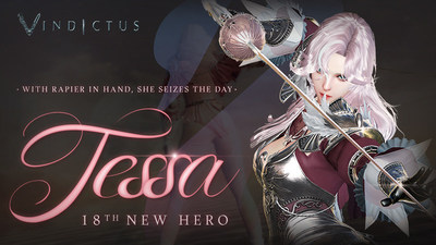 Nexon has announced that Tessa, the 18th hero in Vindictus, is live as of July 13th.