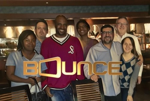 Cayman Kelly renews contract as promo voice for groundbreaking African-American network, Bounce TV