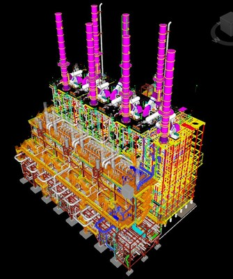 Schematic image for seventh heater addition to LACC Ethane Cracker Facility in Westlake, La.