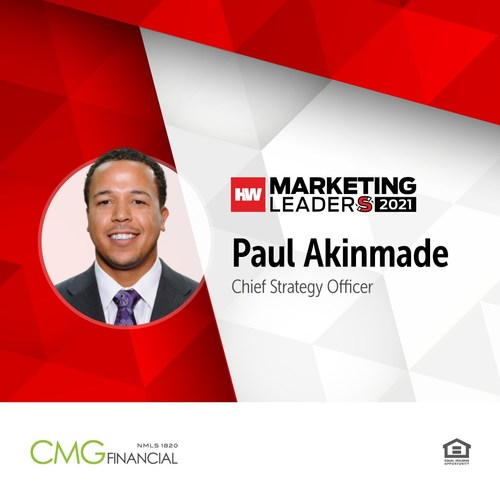 Paul Akinmade, Chief Strategy Officer, CMG Financial
