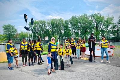 L'Arrondissement de Lachine permet une plus grande inclusion dans la pratique d'activités nautiques au nouveau parc riverain (Groupe CNW/Ville de Montréal - Arrondissement de Lachine)