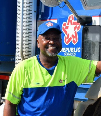 Tony Forrest, 2021 National Industrial Driver of the Year