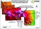 Vision Lithium débute son programme de forage initial sur la propriété Red Brook