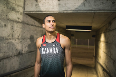 Photo caption: RBC Olympian and RBC Training Ground graduate Pierce LePage will be featured in RBC's advertising during the Tokyo 2020 Olympic Games. Photo Credit: Riley Smith. (CNW Group/RBC)