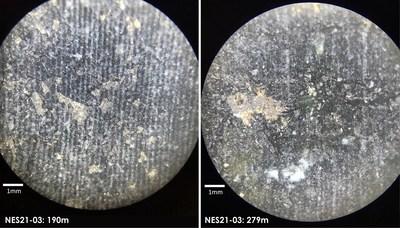 Canada Nickel - Nesbitt 3rd hole microscope image (CNW Group/Canada Nickel Company Inc.)