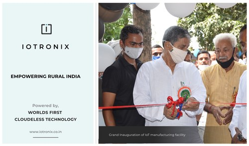 Grand inauguration of largest IoT manufacturing facility by IoTronix