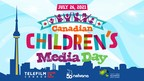Nelvana, Telefilm Canada and Youth Media Alliance Celebrate Canadian Children's Media Day on July 26