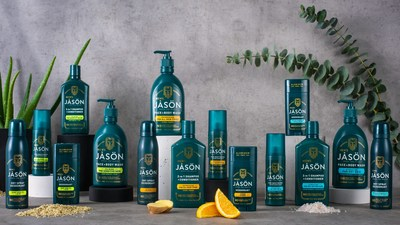 The JĀSÖN men's line is designed with men's hair and skin care needs in mind. It can be hard for men to find products that can handle their unique hair and skin care issues, such as dry skin, sensitive skin, dandruff relief, etc.