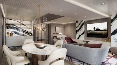 Oceania Suite Living Room, Courtesy of Oceania Cruises