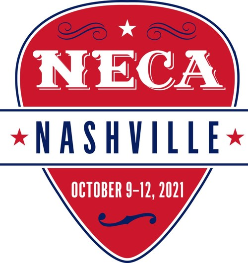 The National Electrical Contractors Association (NECA) is excited to announce that registration has opened for the 2021 NECA Convention & Trade Show in Nashville. This event, being held Oct. 9–12, marks the in-person return of the electrical construction industry's premier event. Attendees will gain access to industry-leading education, top-notch speakers, networking, entertainment and North America's largest electrical construction trade show.