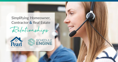 Facilitating relationships with homeowners, contractors and real estate