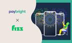 Grâce au nouveau partenariat entre Fizz et PayBright, les clients peuvent acheter un téléphone maintenant et le payer au fil du temps