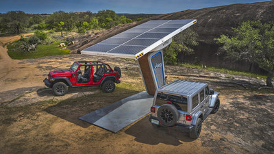 Jeep® Brand Celebrates 80 Years by Building an Electric Present and Future.