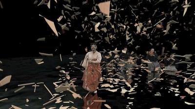 """Lady Aoi"" volumetric video image. Image courtesy of Canon, Inc."