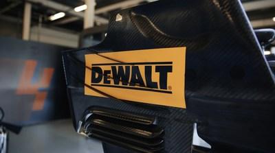 Stanley Black & Decker brand, DEWALT, on the McLaren MCL35M at the British Grand Prix 2021