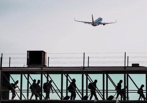Ontario Airport saw passenger volumes climb above 90% of pre-pandemic levels in June.