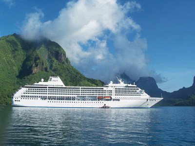 Moorea, French Polynesia, one of 66 ports of call on Regent's 2024 World Cruise