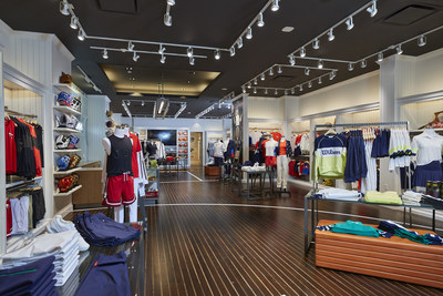 Wilson Sporting Goods Co. celebrates the grand opening of its first-ever retail location today in its hometown of Chicago.