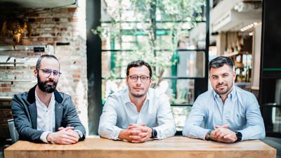Nethone c-team: Aleksander Kijek (CPO), Hubert Rachwalski (CEO) and Mateusz Czech (COO)
