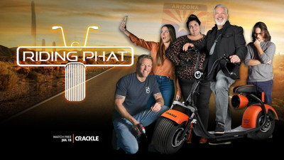 """Crackle's Original Reality Drama """"RIDING PHAT"""" Blends Sports, Celebrity with Country Club and Urban Lifestyle Stories in Unique Behind-the-Scenes Look at the Scooter Culture"""