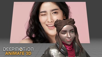 DeepMotion introduces Markerless Face Tracking