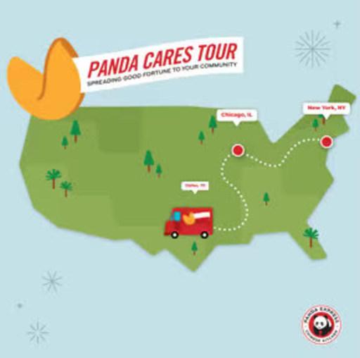 Panda Express® lanza el Panda Cares Tour para difundir la buena...