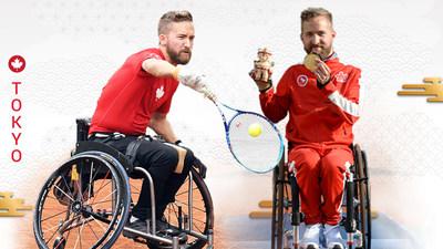 Rob Shaw représentera le Canada en tennis en fauteuil roulant aux Jeux paralympiques de Tokyo 2020 cette l'été. PHOTO : Comité paralympique canadien (Groupe CNW/Canadian Paralympic Committee (Sponsorships))