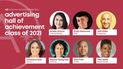 2021 AAF Advertising Hall of Achievement Honorees