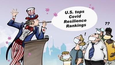 Por quanto tempo os EUA poderiam viver em uma bolha?/CGTN (PRNewsfoto/CGTN)
