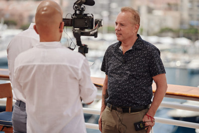 Mitch Lowe during Monte Carlo Streaming Film Festival in July