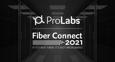 Global leaders in optical transceiver technology ProLabs will display its latest 100G extended range 80KM optics, which change the game in backhaul and distribution, at Fiber Connect, taking place July 25-28, 2021 at the Gaylord Opryland Resort & Convention Center in Nashville, Tennessee.