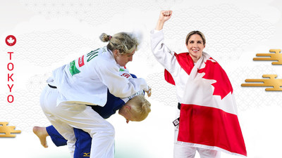 Priscilla Gagné will represent Canada in the sport of Para judo at the Tokyo 2020 Paralympic Games. PHOTO: Canadian Paralympic Committee (CNW Group/Canadian Paralympic Committee (Sponsorships))
